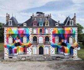 Castillo abandonado - Proyecto de un artista francés