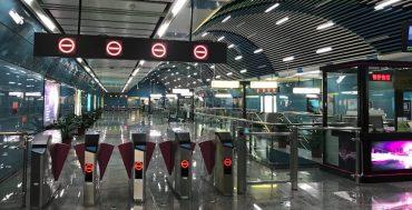 China - Estación de metro sin uso