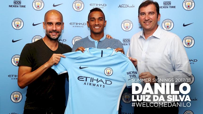 ¡Otro lateral! Danilo es nuevo futbolista del Manchester City