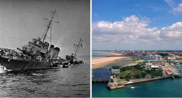 Mira cómo lucía Dunkerque durante y después de la guerra