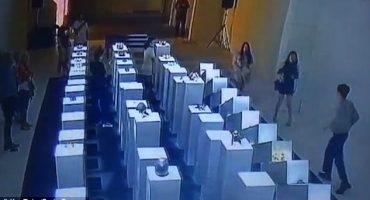 EpicFail: foto pa'l feis terminó en destrucción de obras equivalente a 200 mil dólares