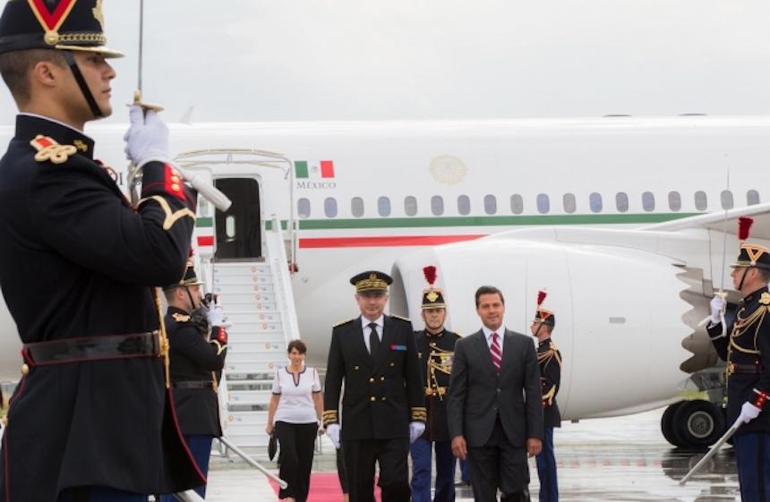 Enrique Peña Nieto llega a Cumbre del G-20