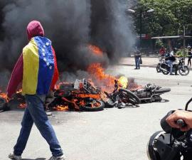 Explosión en Caracas durante las elecciones de las Asamblea Constituyente
