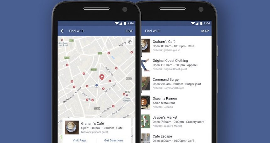 La app de Facebook que te ayuda a buscar Wi-Fi gratis