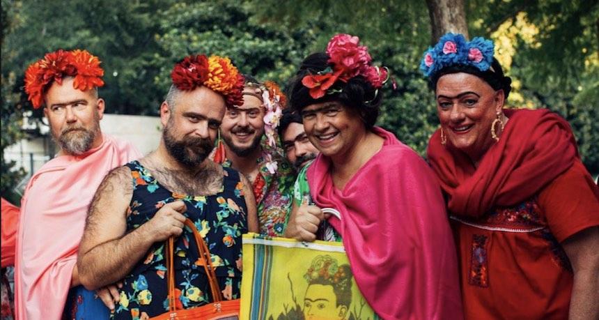 ¡Este museo reunió a miles de personas disfrazadas de Frida Kahlo!