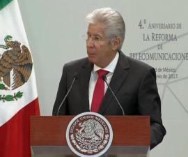Gerardo Ruíz Esparza, titular de la Secretaría de Comunicaciones y Transportes