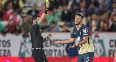 Guido Rodríguez será suspendido de nuevo y no jugará ante los Pumas