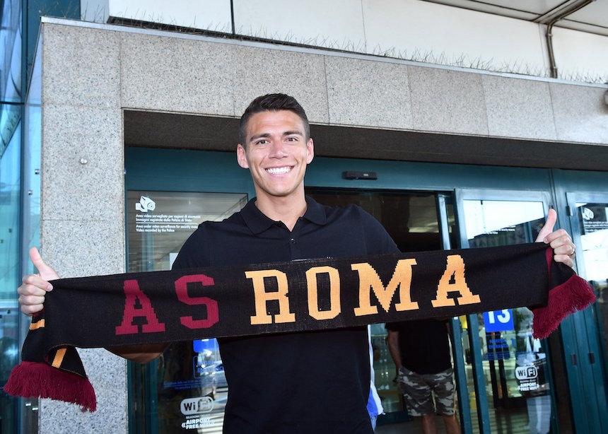 hector moreno presentacion as roma