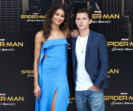 Zendaya y Tom Holland juntos