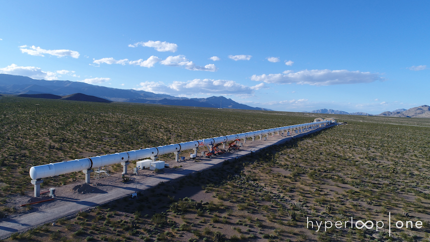 Hyperloop - Pista