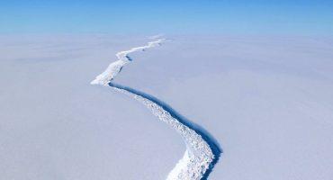 Un iceberg del tamaño de 4 veces la CDMX se desprendió de la Antártida