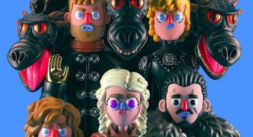 Mira a los personajes de Game of Thrones ilustrados por un artista mexicano