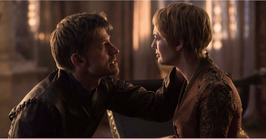 Jaime y Cersei Lannister