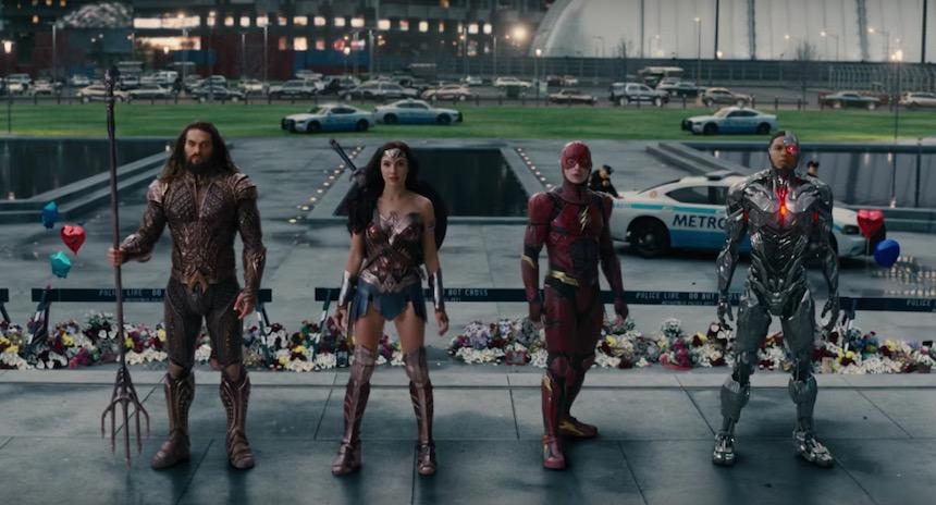 Nuevo tráiler de Justice League