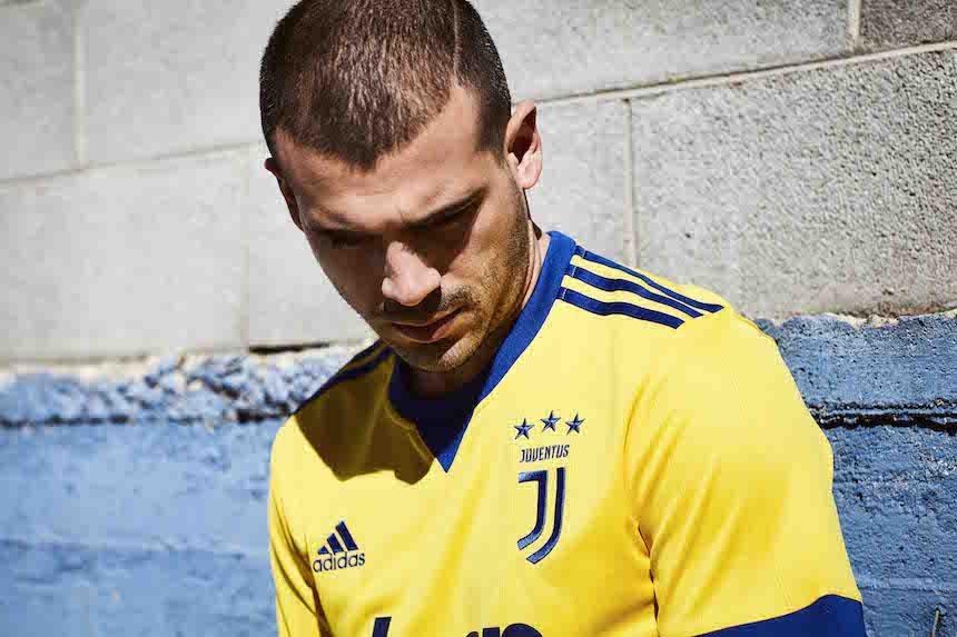 ¿Qué tal el uniforme de visitante de la Juventus?