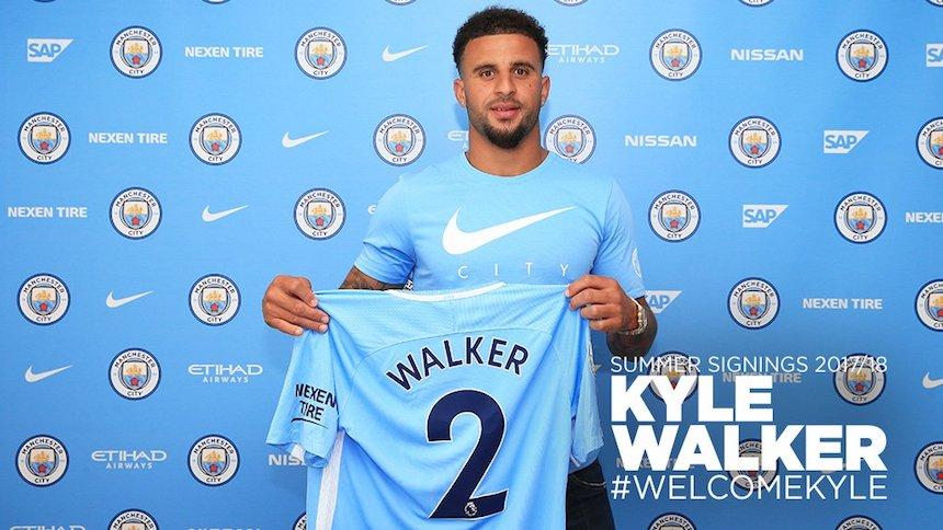 Oficial: Kyle Walker nuevo jugador del Manchester City