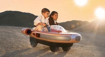 El Landspeeder de Luke Skywalker para niños es lo más genial del planeta