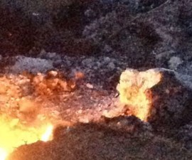 Posible nuevo volcán en Michoacán