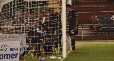 ¡Ouch! La terrible lesión de Lizandro Echeverría en el Ascenso MX