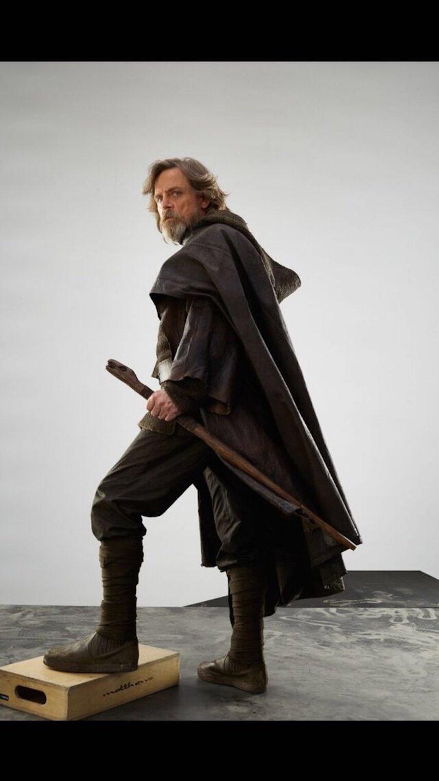 Star Wars: The Last Jedi - Luke