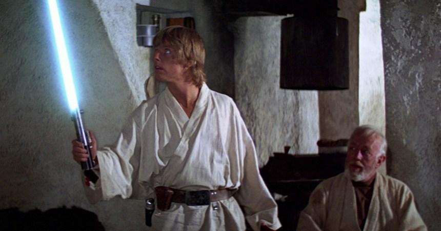 Sable de Luz de Luke Skywalker