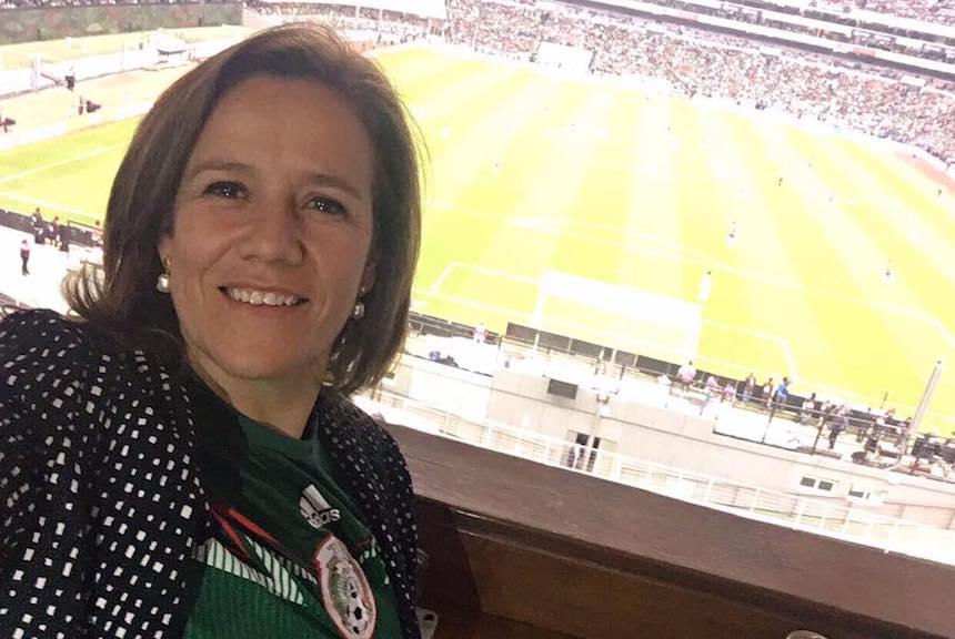 Margarita Zavala, aspirante presidencial del PAN