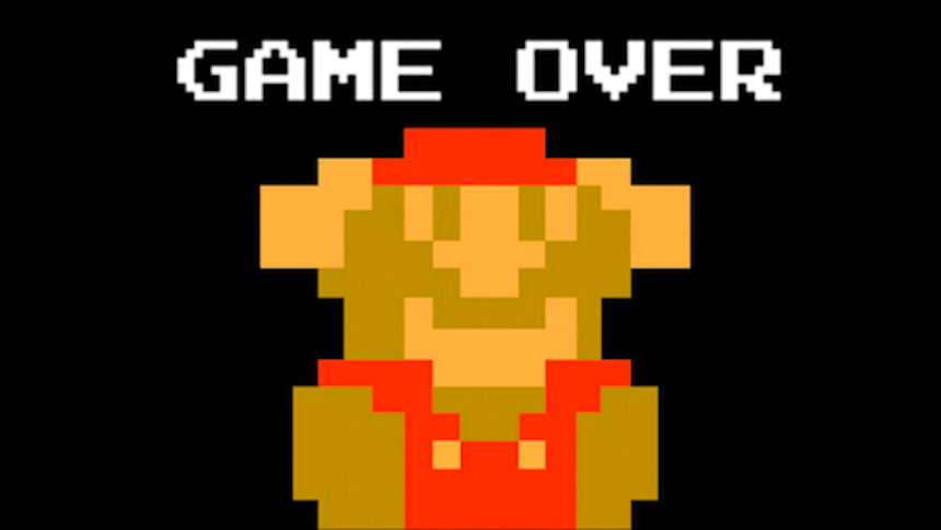 Game Over - Super Mario Bros.
