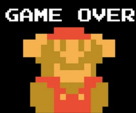 Game Over - Super Mario Bros.
