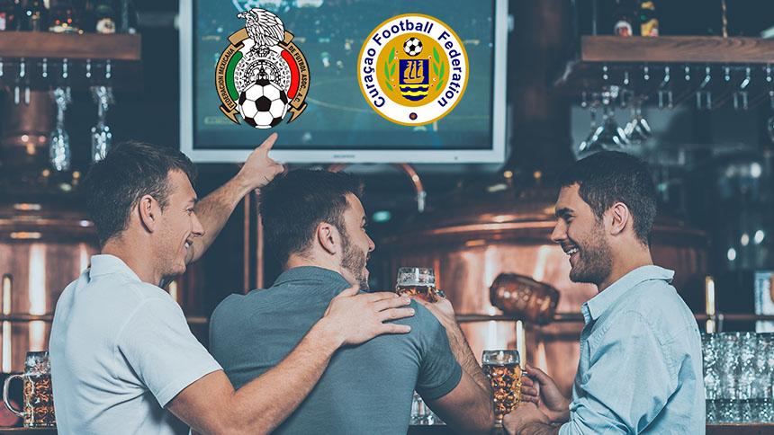 México vs Curazao