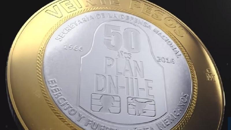 Moneda conmemorativa del Plan DN III