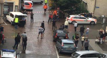 Suiza: hombre ataca con una motosierra y logra darse a la fuga, por lo menos 5 heridos