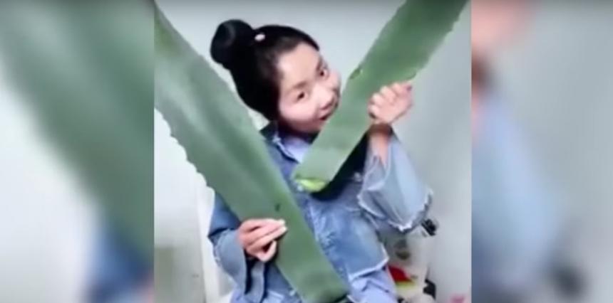 La mujer china que comió agave