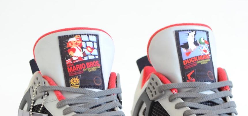Los Air Jordan 4 de Nintendo