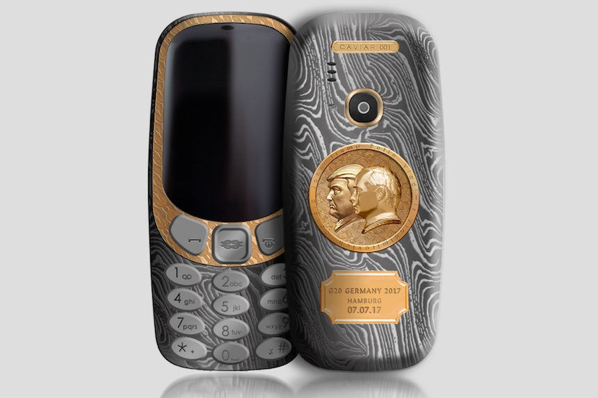 Nokia edición Putin con Trump