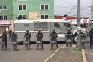 Marina y Policía Federal participaron en operativo en Tláhuac