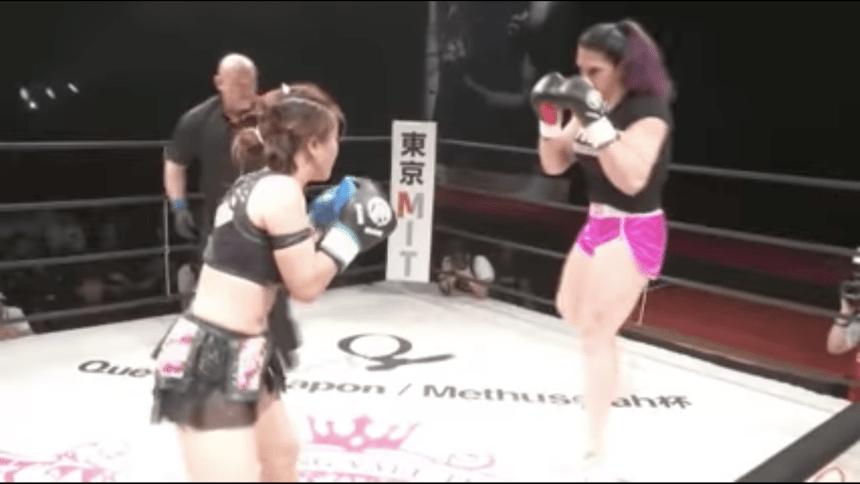 WTF?!? Esta es la pelea femenil más dispareja del mundo