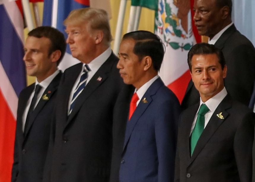 Trump y EPN se ven las caras en el G-20