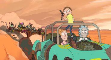 Rick & Morty se pasearán por el mundo de Mad Max