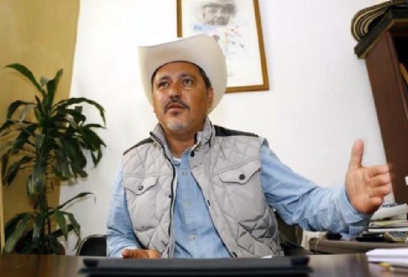 El delegado de Tláhuac, Rigoberto Salgado