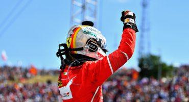 Sebastian Vettel sigue de líder y ganó el Gran Premio de Hungría