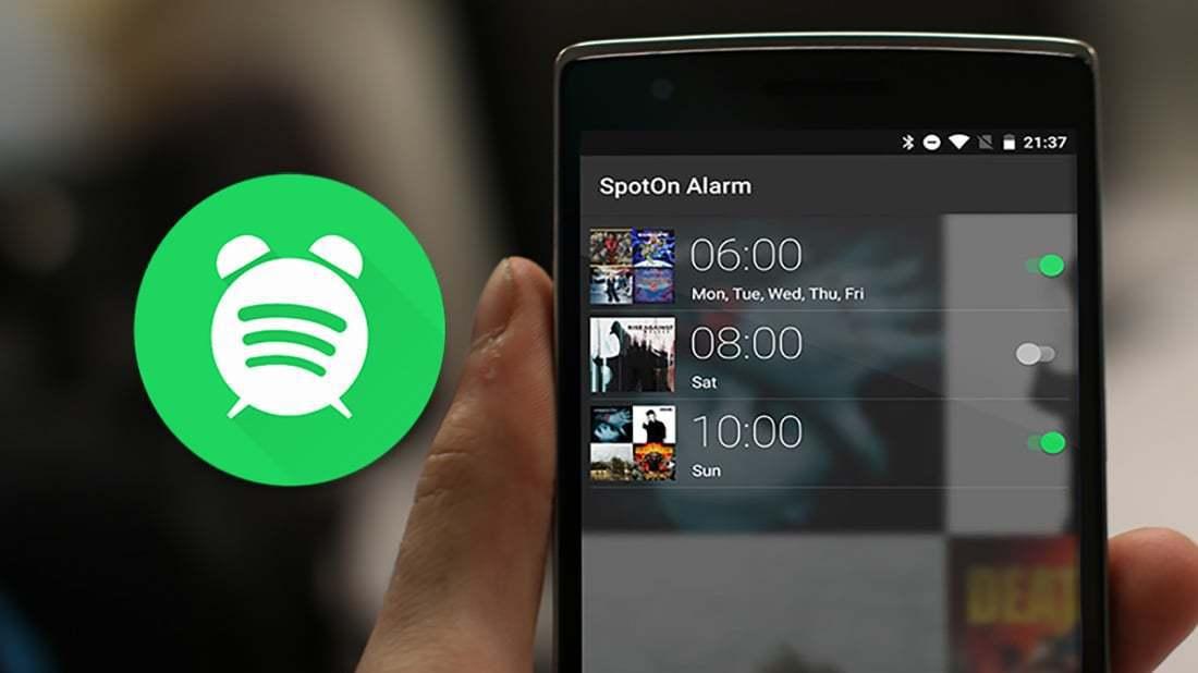 Aquí te decimos cómo convertir Spotify en un despertador