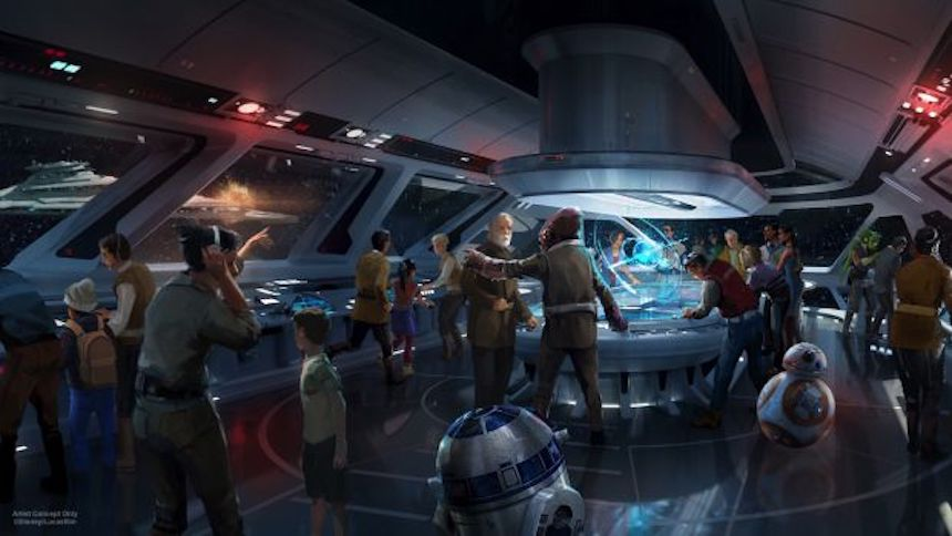 Ya podrás visitar una galaxia muy lejana en el hotel temático de Star Wars