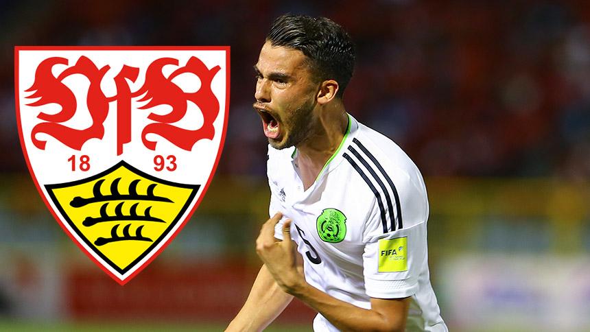 Según la prensa alemana, el Stuttgart tiene interés en Diego Reyes