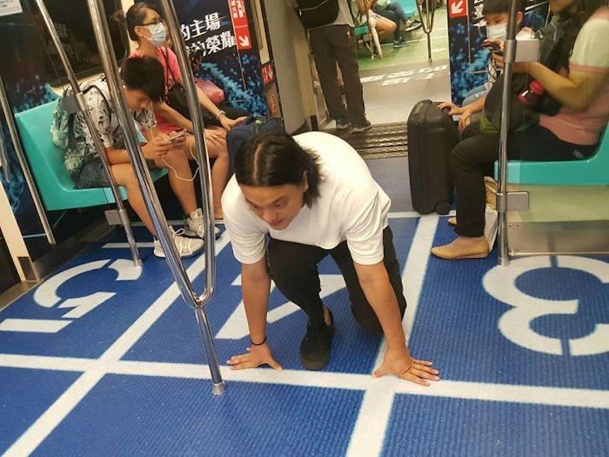 Carreritas en el metro