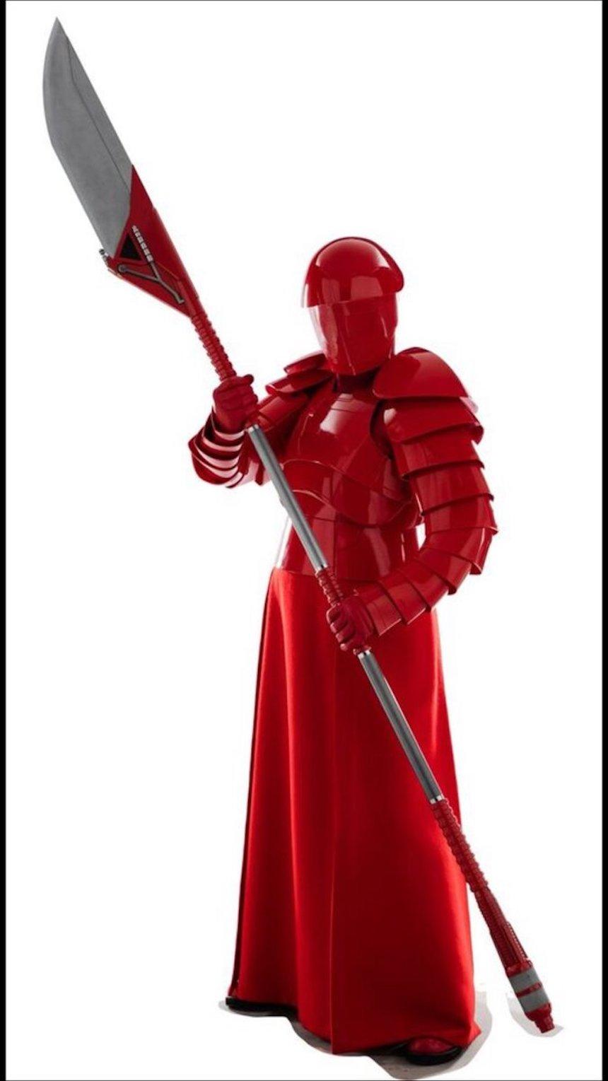 Star Wars: The Last Jedi - Throoper rojo