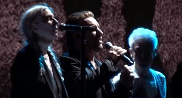 U2 invitó a Patti Smith al escenario a cantar