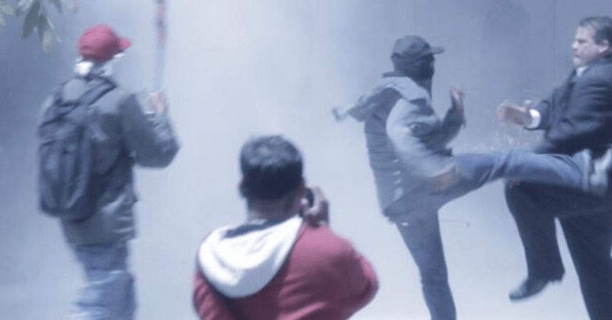 Chavistas atacan a diputados en Asamblea General de Venezuela