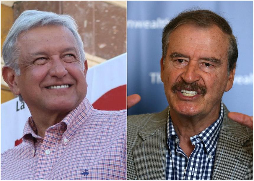 Continúa la rivalidad entre AMLO y Vicente Fox