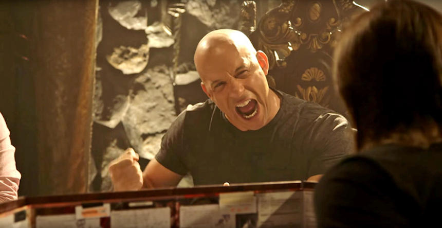 Vin Diesel jugando Dungeons and Dragons