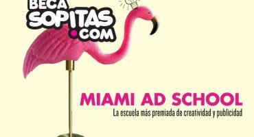 ¡Regresa la beca Sopitas para estudiar en la Miami Ad School!